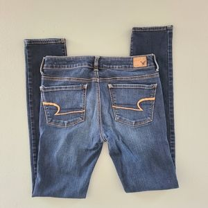 Excellent condition women's long skinny jeans